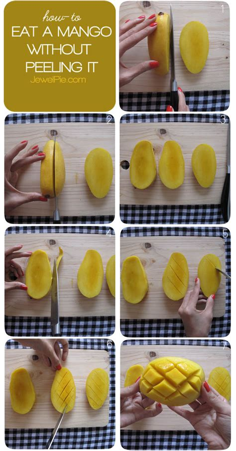 How to eat a mango without peeling it? - JewelPie