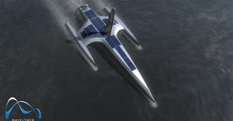 Unmanned, fully-autonomous ship that will cross the