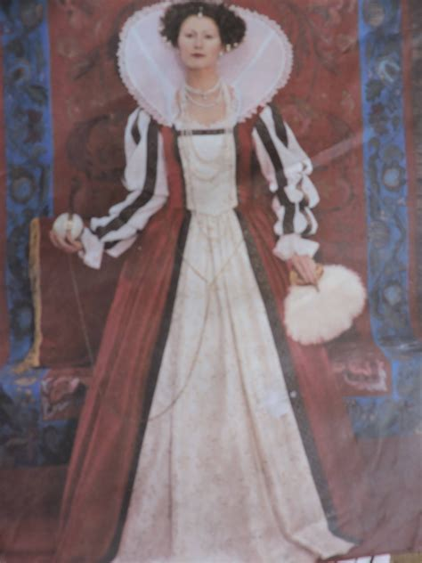 Elizabethan Gown Under Skirt Stage Play History Historical