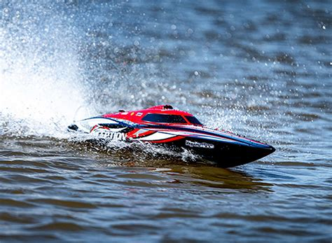 HydroPro Inception Brushless RTR Deep Vee Racing Boat 950mm (Red/Black)   hobbyking