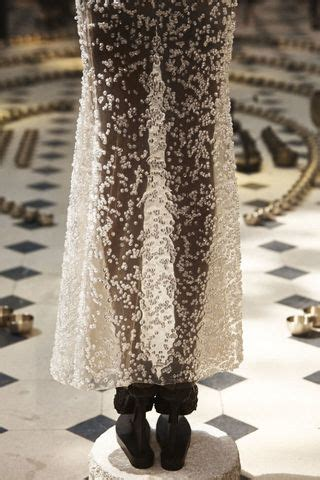 This Couture Dress Is Made of Hundreds of Glass Bubbles