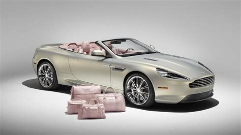 This is an Aston DB9 with pink interior | Top Gear