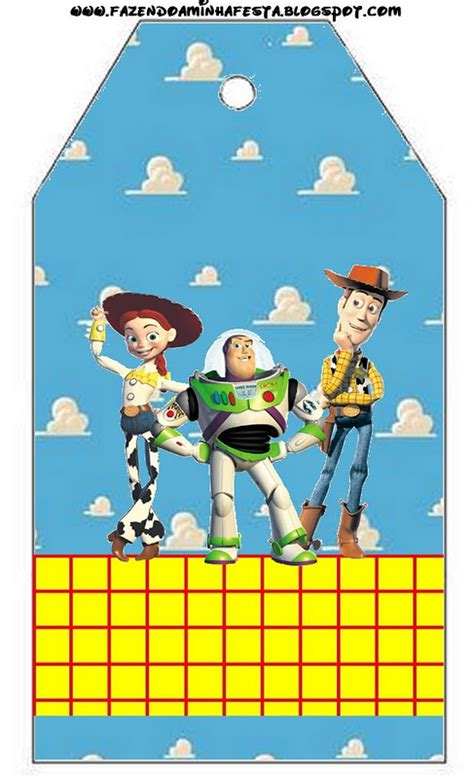 Toy Story Free Party Printables and Backgrounds