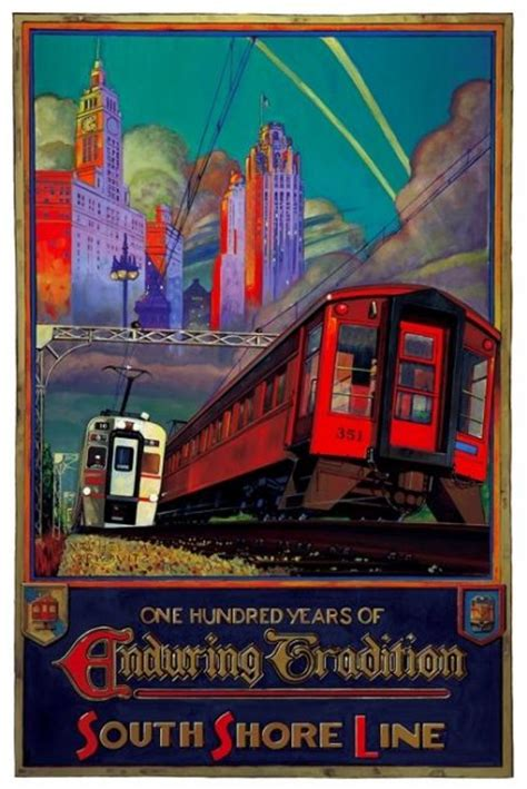 All aboard for South Shore poster show   Entertainment   nwitimes